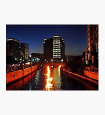 Providence WaterFire Photographic Print