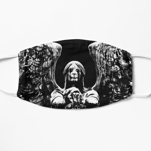 Weeping Angel Flat Mask