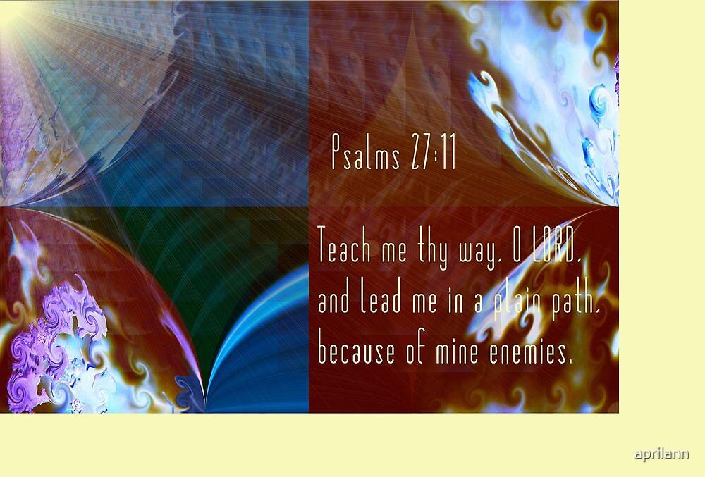 Lead Me in a Plain Path by aprilann