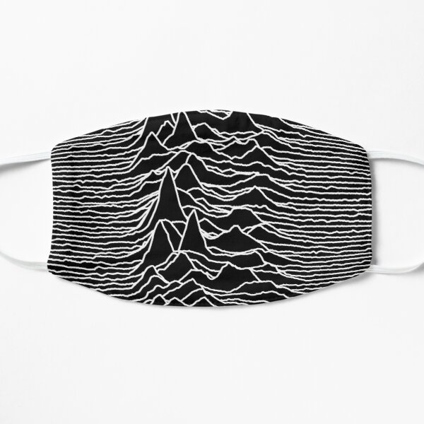 Unknown Pleasures [J01]   Flat Mask