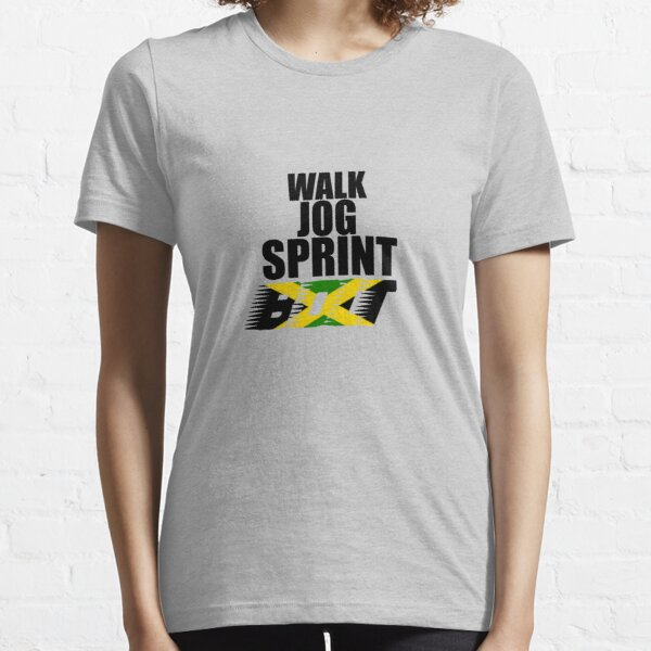 Walk, Jog, Sprint, BOLT! Essential T-Shirt