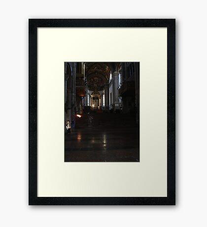 IL DUOMO DI PARMA ALTARE MAGGIORE...ITALIA Framed Print