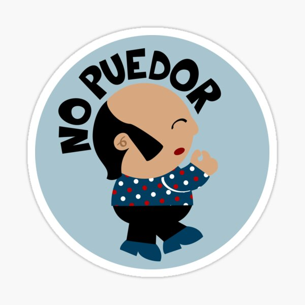 Chiquito De La Calzada Sticker