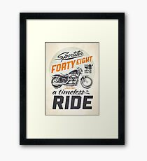Forty Eight Framed Print