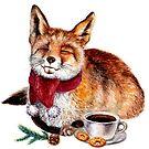 Kaffee-Fuchs von AnnaShell