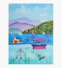 Th Loch Ness monster Photographic Print