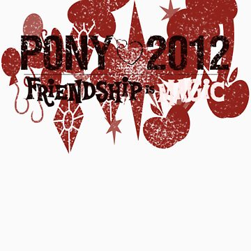 My Little Pony: Friendship Is Magic 2012 by 918thefan