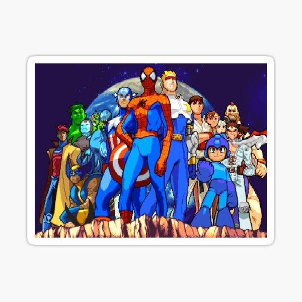 Clash of Super Heroes Sticker