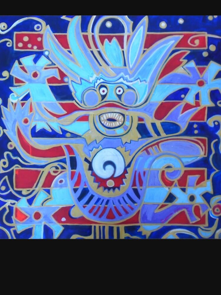 Hexagram 1: Ch'ien (Creative Force) by DWeaverRoss