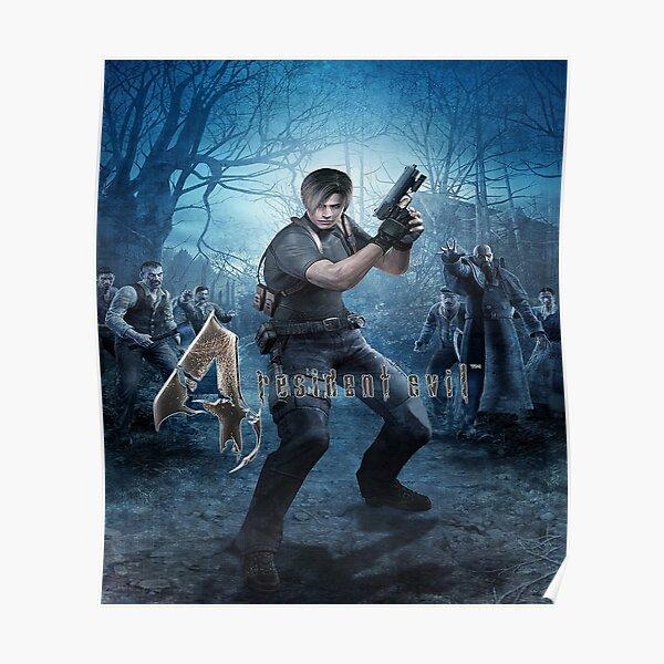 Resident Evil 4 Leon Poster