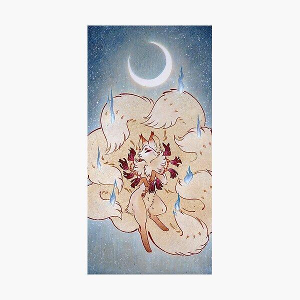 Apotheosis - TeaKitsune Fox Yokai Photographic Print