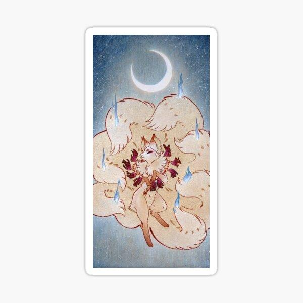 Apotheosis - Kitsune Fox Yokai Sticker
