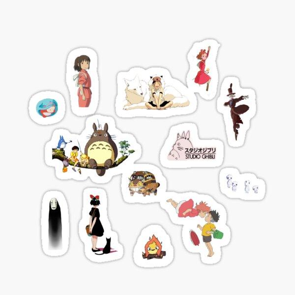 Studio Ghibli Aufkleber Pack Sticker