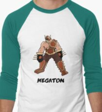 Megaton Men's Baseball ¾ T-Shirt
