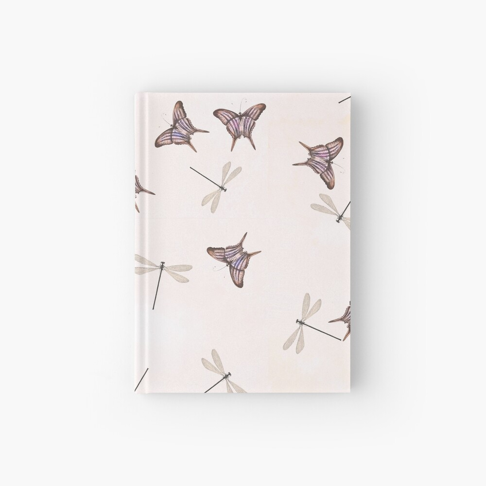 Butterflies and damselflies Hardcover Journal