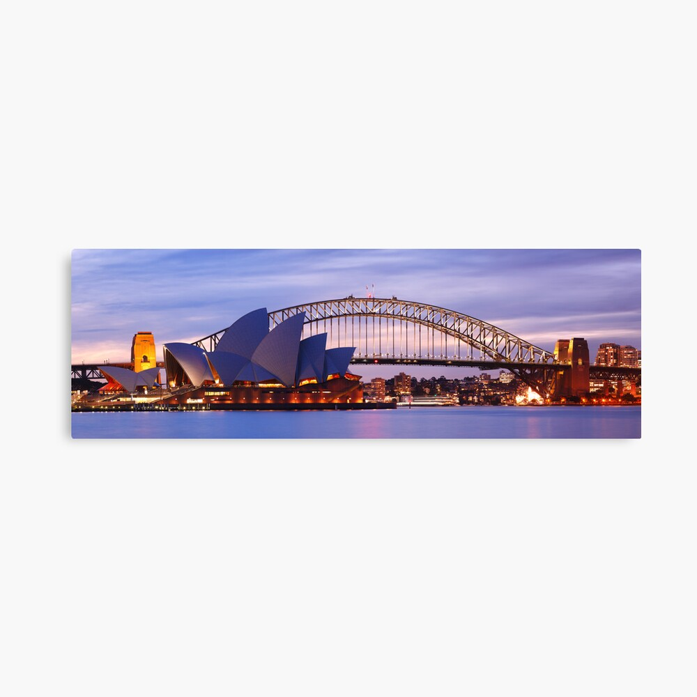 Classic Sydney, New South Wales, Australia Canvas Print