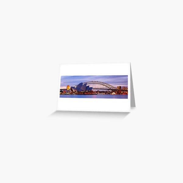Classic Sydney, New South Wales, Australia Greeting Card