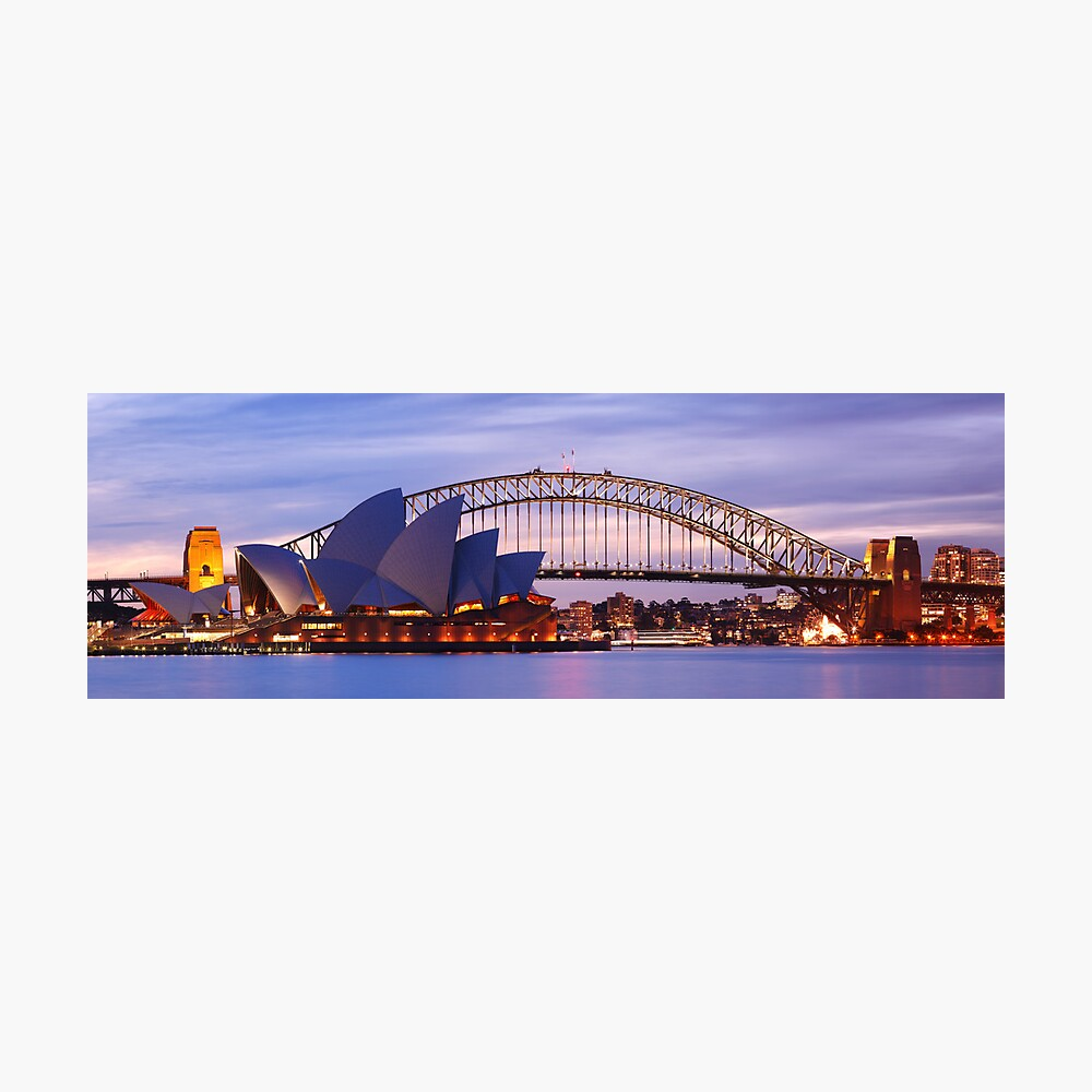Classic Sydney, New South Wales, Australia Photographic Print