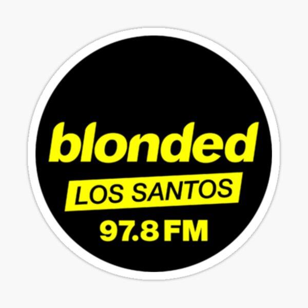blonded los santos Sticker