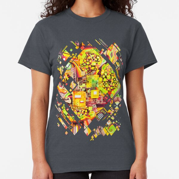 Distortion Sympathy - Watercolor Painting Classic T-Shirt