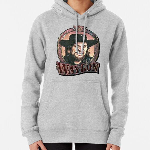 Waylon Jennings Pullover Hoodie