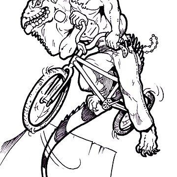 BMX Iguana by RoughsRoughs