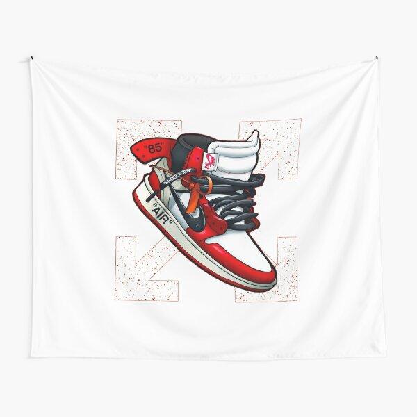 Off-White Jordan 1s Tapestry