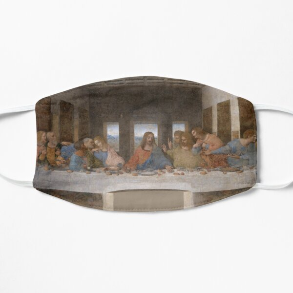 The Last Supper Gifts - Leonardo Da Vinci Classical Masterpiece Painting Gift Ideas for Art Lovers of Classic Artwork by DaVinci Mask