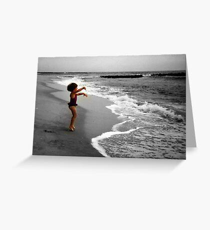 I Love The Ocean! Greeting Card