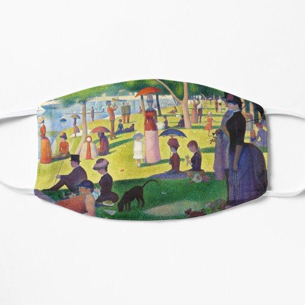 A Sunday on La Grande Jatte Flat Mask