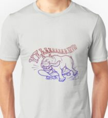 Yeah Bulldog Fun Colors Unisex T-Shirt