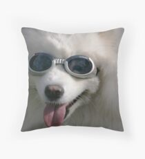 Sam Oyed in sunnies Throw Pillow