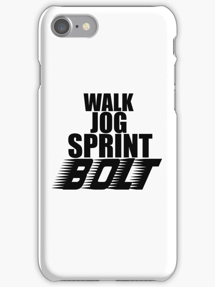 Walk, Jog, Sprint, BOLT! by tappers24