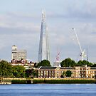 The Shard from Greenwich by KarenM