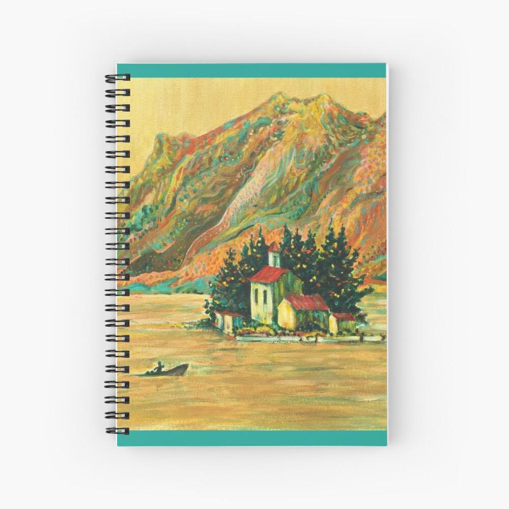 Eve's Island Spiral Notebook