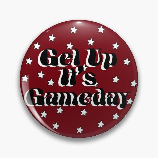 South Carolina Get Up It's Gameday Pin
