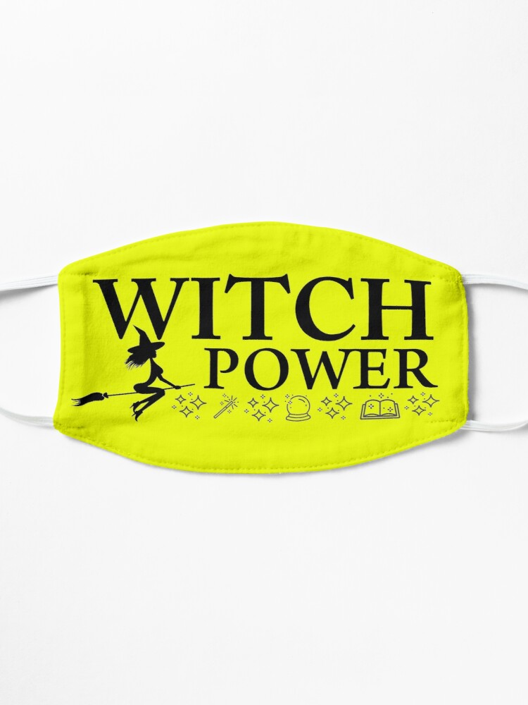 Alternate view of Witch 2 design Witch Power Mask