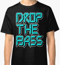 Drop The Bass (cyan) Classic T-Shirt