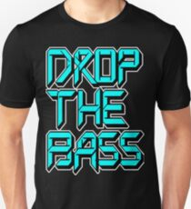 Drop The Bass (cyan) T-Shirt
