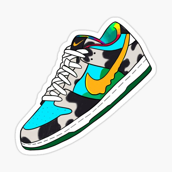 Chunky Dunky SB Dunk Collaboration  Sticker