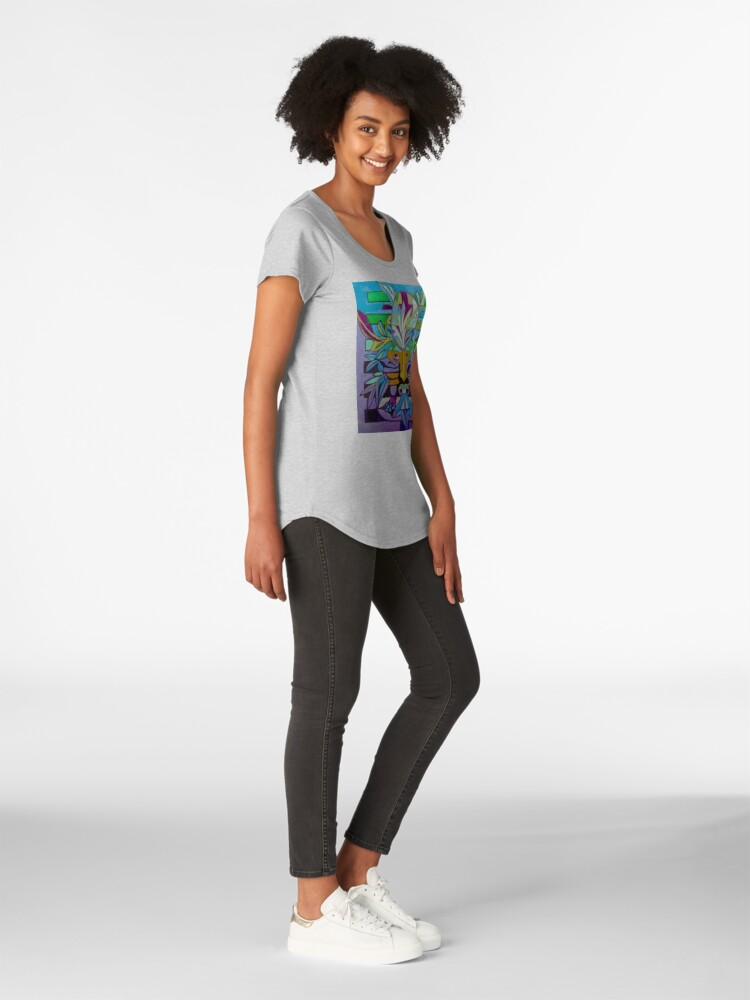 Alternate view of Hexagram 24: Fu (Turning Point) Premium Scoop T-Shirt