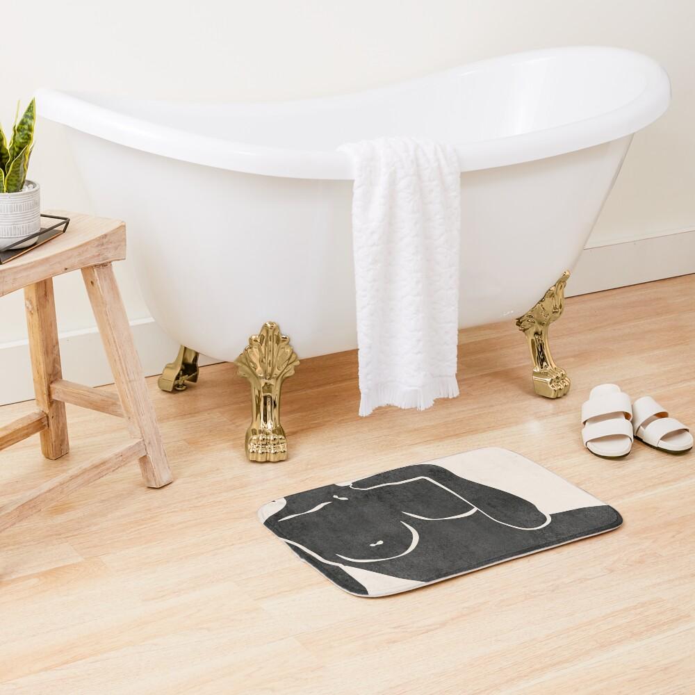 Erotic Art Bath Mat