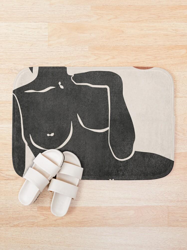 Alternate view of Erotic Art Bath Mat