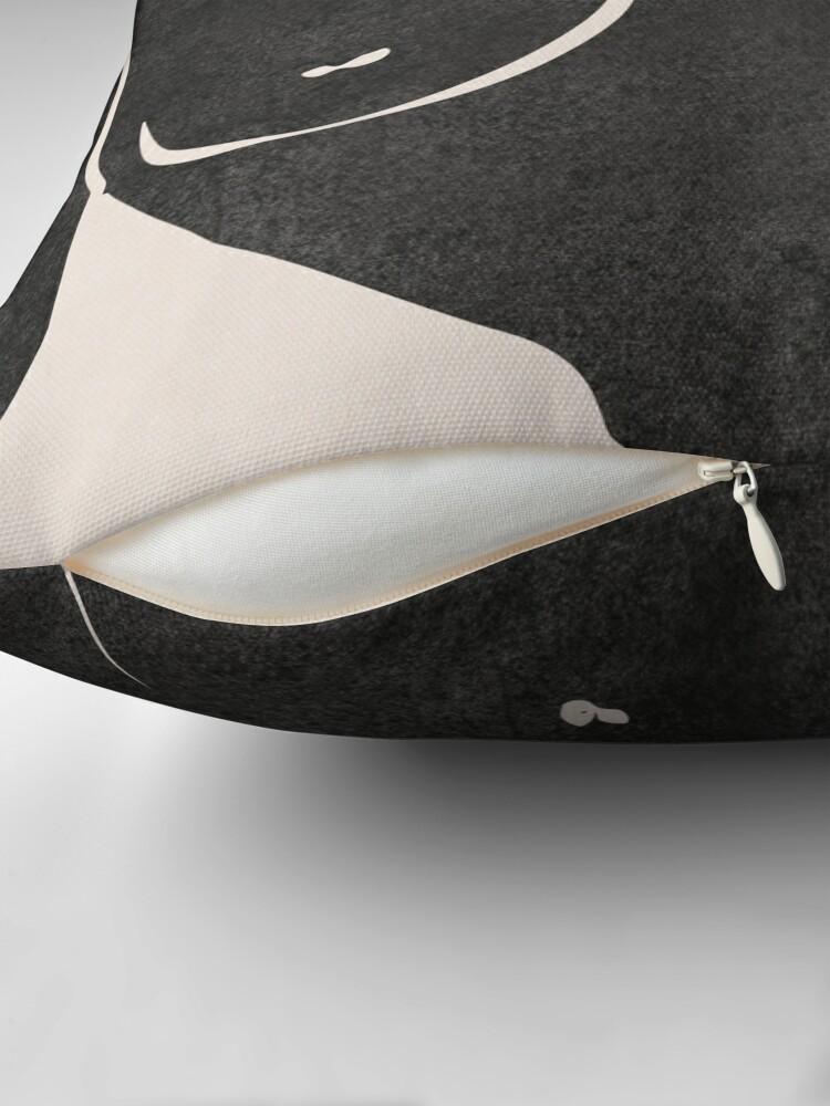 Alternate view of Erotic Art Throw Pillow