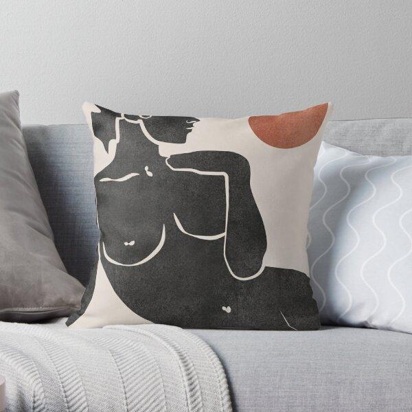 Erotic Art Throw Pillow