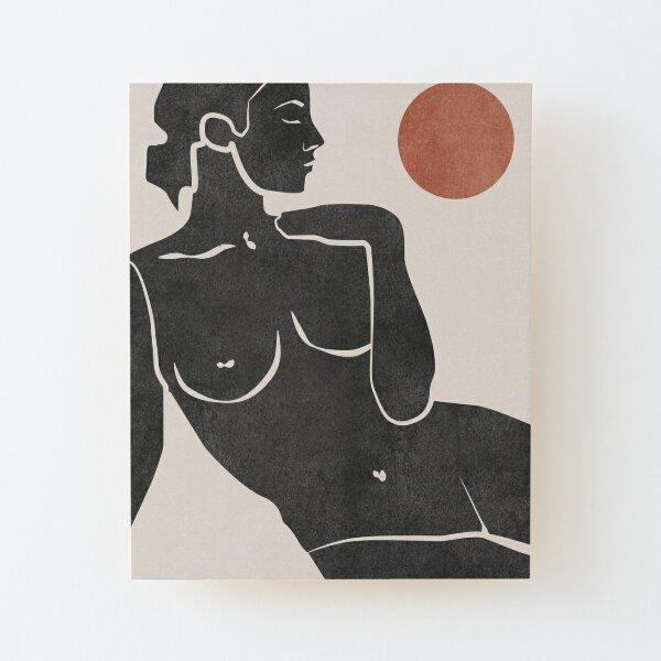 Erotic Art Wood Mounted Print