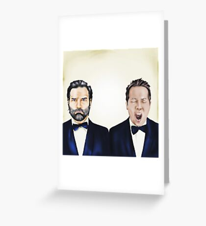 Adam and Joe Greeting Card