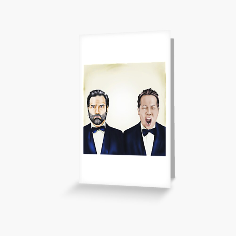 Adam and Joe Greeting Card