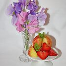 Fresh Fruit and Flowers by AnnDixon