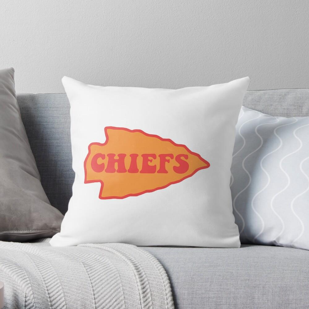 Chiefs Throw Pillow